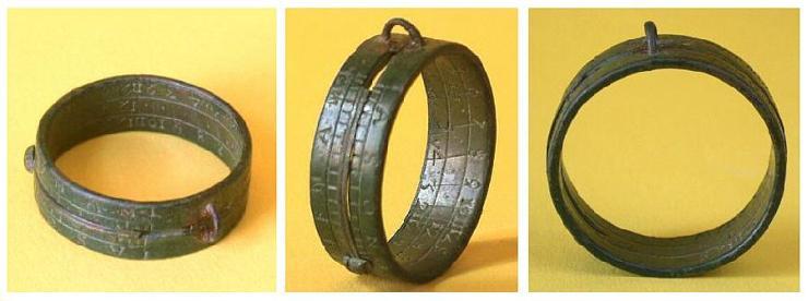 aquitaine sundial ring instructions